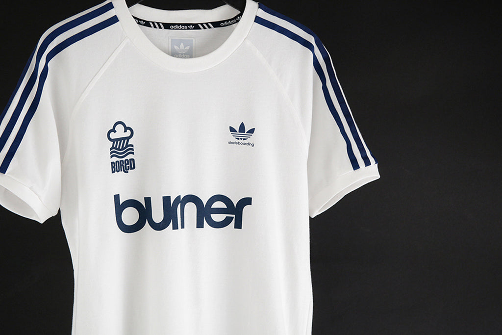 Bored of Southsea x Adidas Skateboarding Burner Jersey