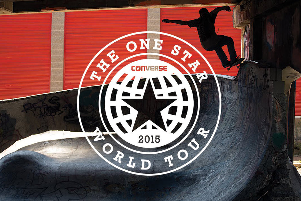 Converse One Star World Tour