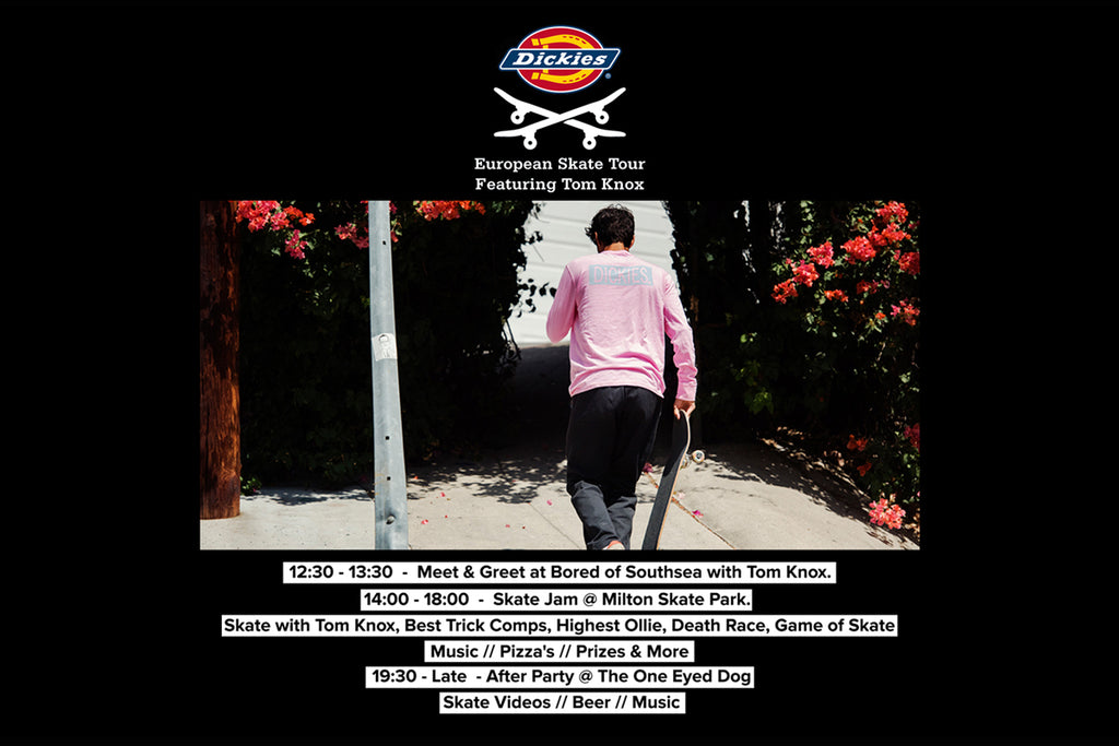 Dickies European Skate Tour featuring Tom Knox