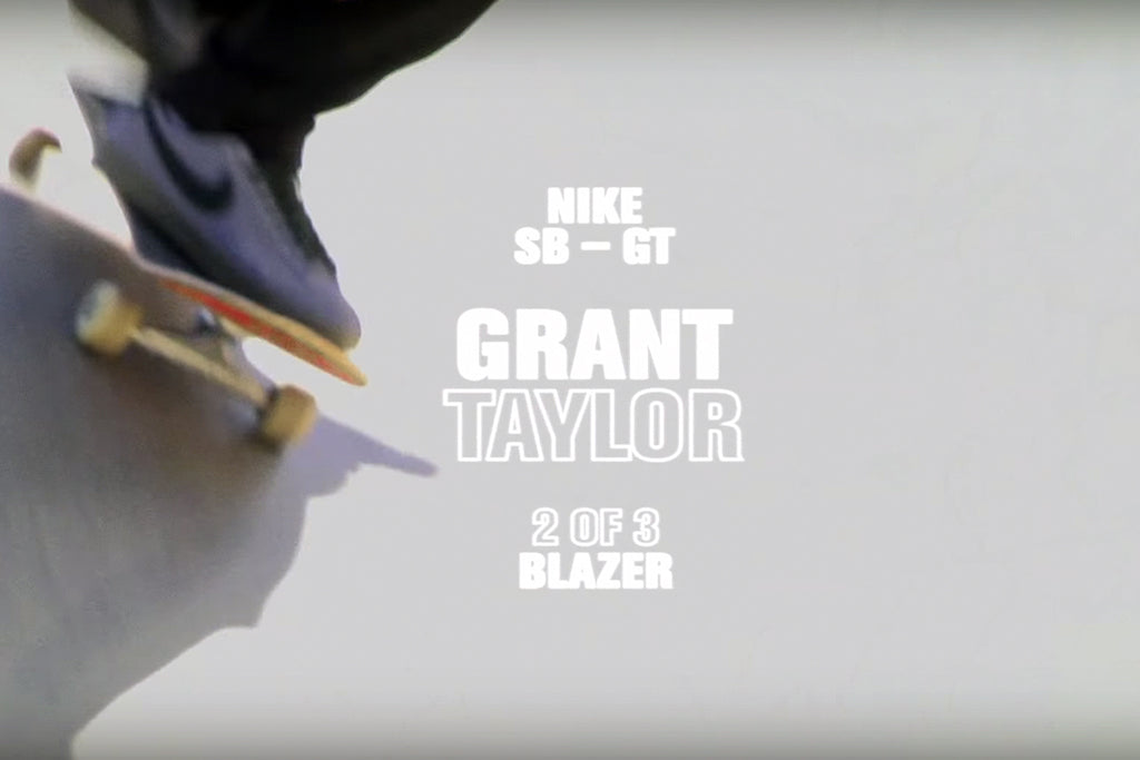 Nike SB GT Blazer Low 2 of 3 with Grant Taylor