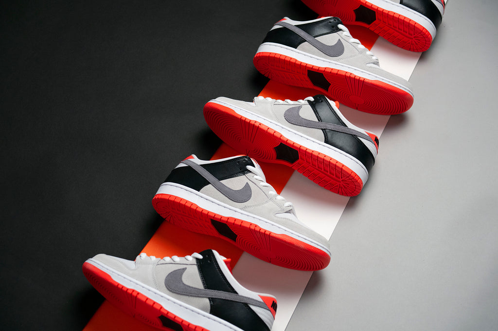"Nike SB Dunk Low ""Infrared"" Orange Label"