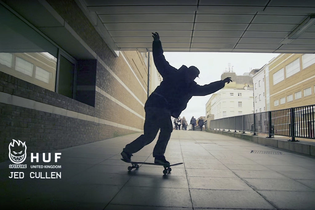 Jed Cullen for Spitfire Wheels x Huf