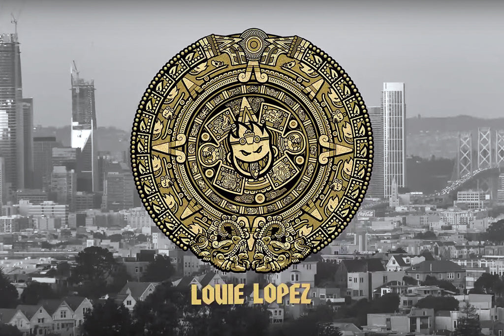 Louie Lopez for Spitfire Wheels part