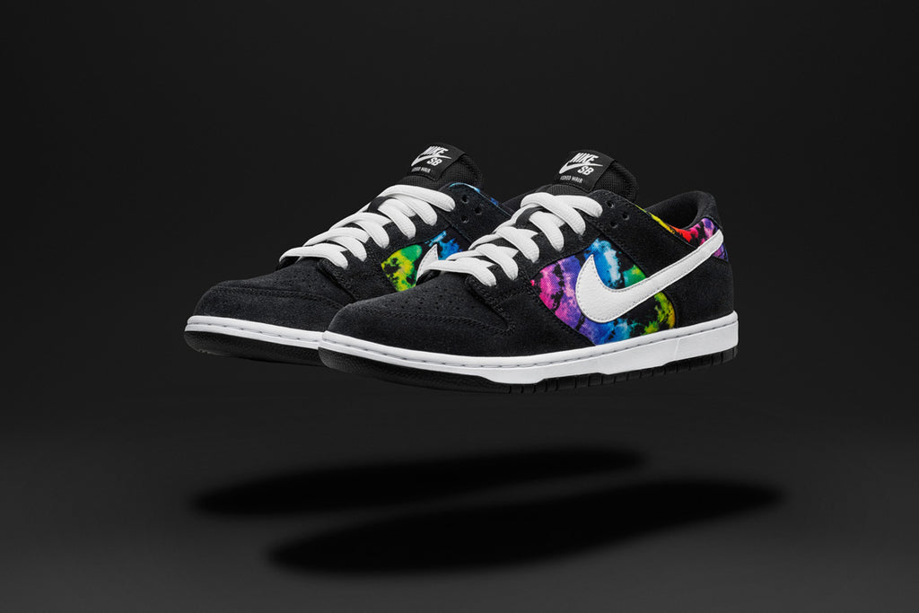 Nike SB Dunk Low Ishod Wair Black/Multi Colour