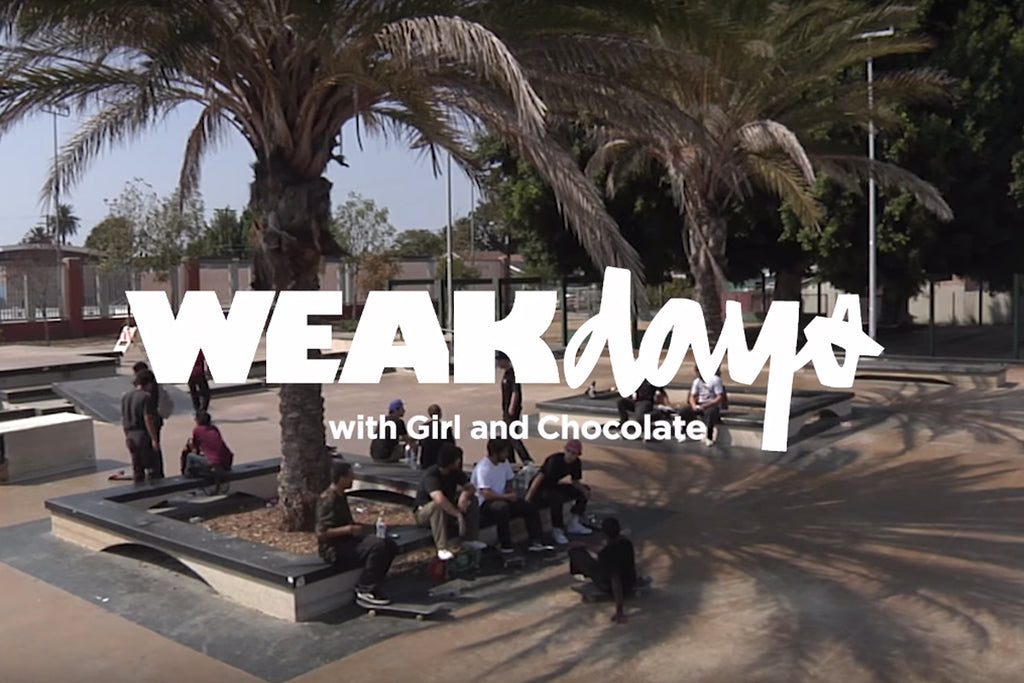 Weakdays at Harvard Park with Girl and Chocolate