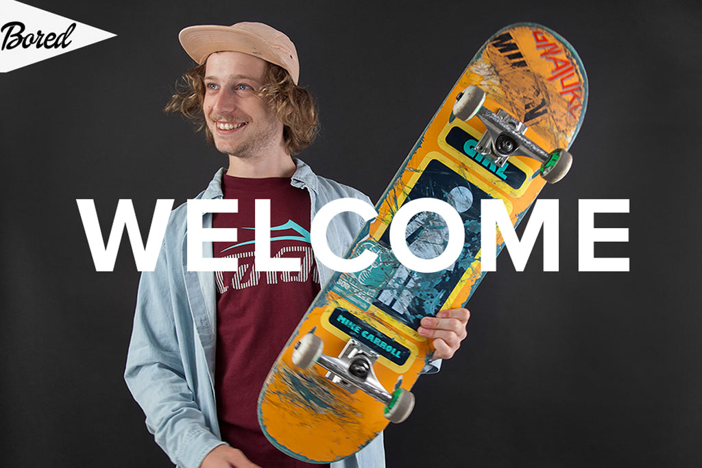 Crailtap and Bored Welcome Pete Johns