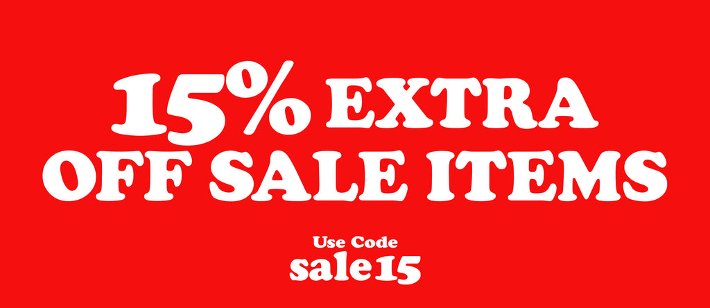 15% Extra Off Sale Items Slider