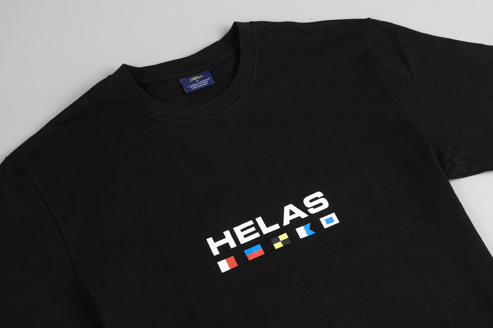Helas Nautique T Shirt - Black