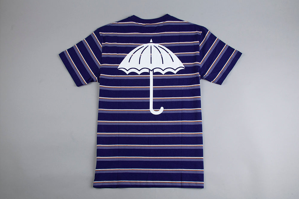 Helas Stripy UMB T Shirt - Navy