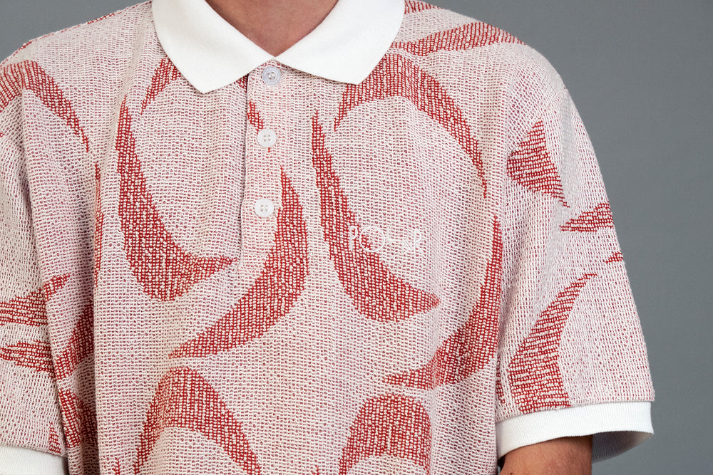 Polar_Pattern_Polo_Ivory_Red_2