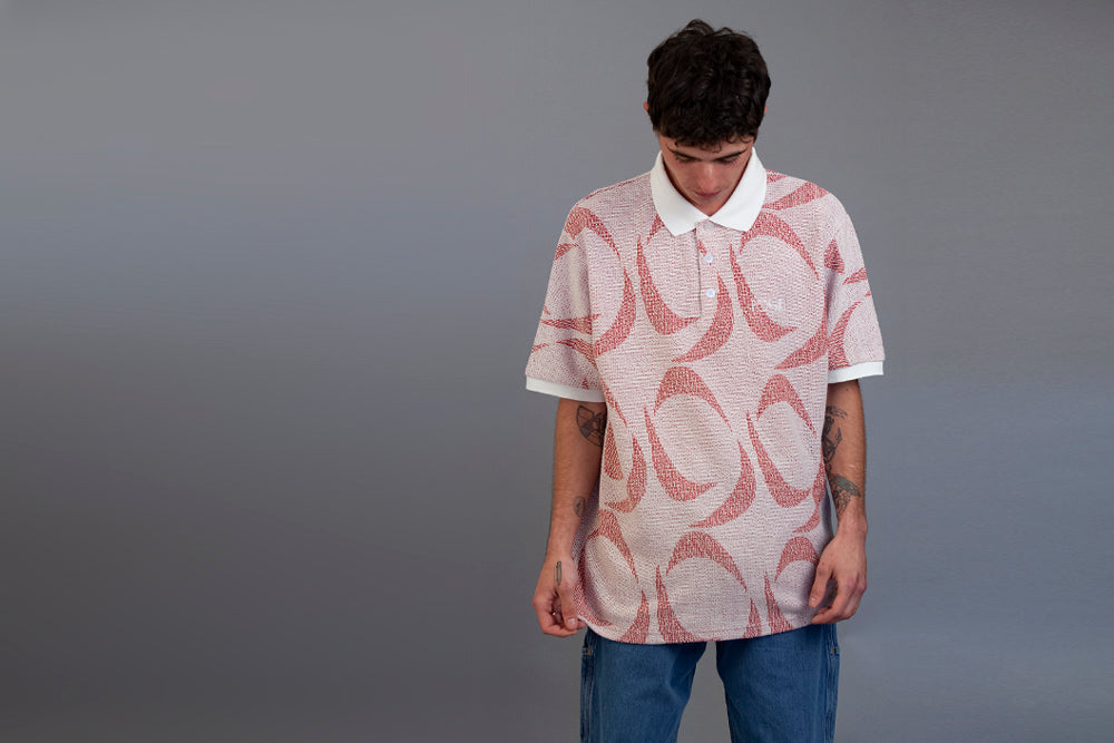 Polar_Pattern_Polo_Ivory_Red_1