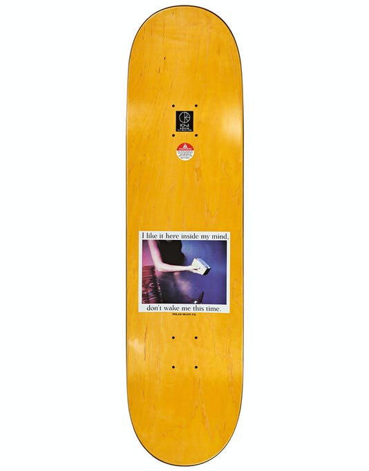 "Polar Skate Co Team I Like It Here...Field Skateboard Deck 8.625"" - Top"