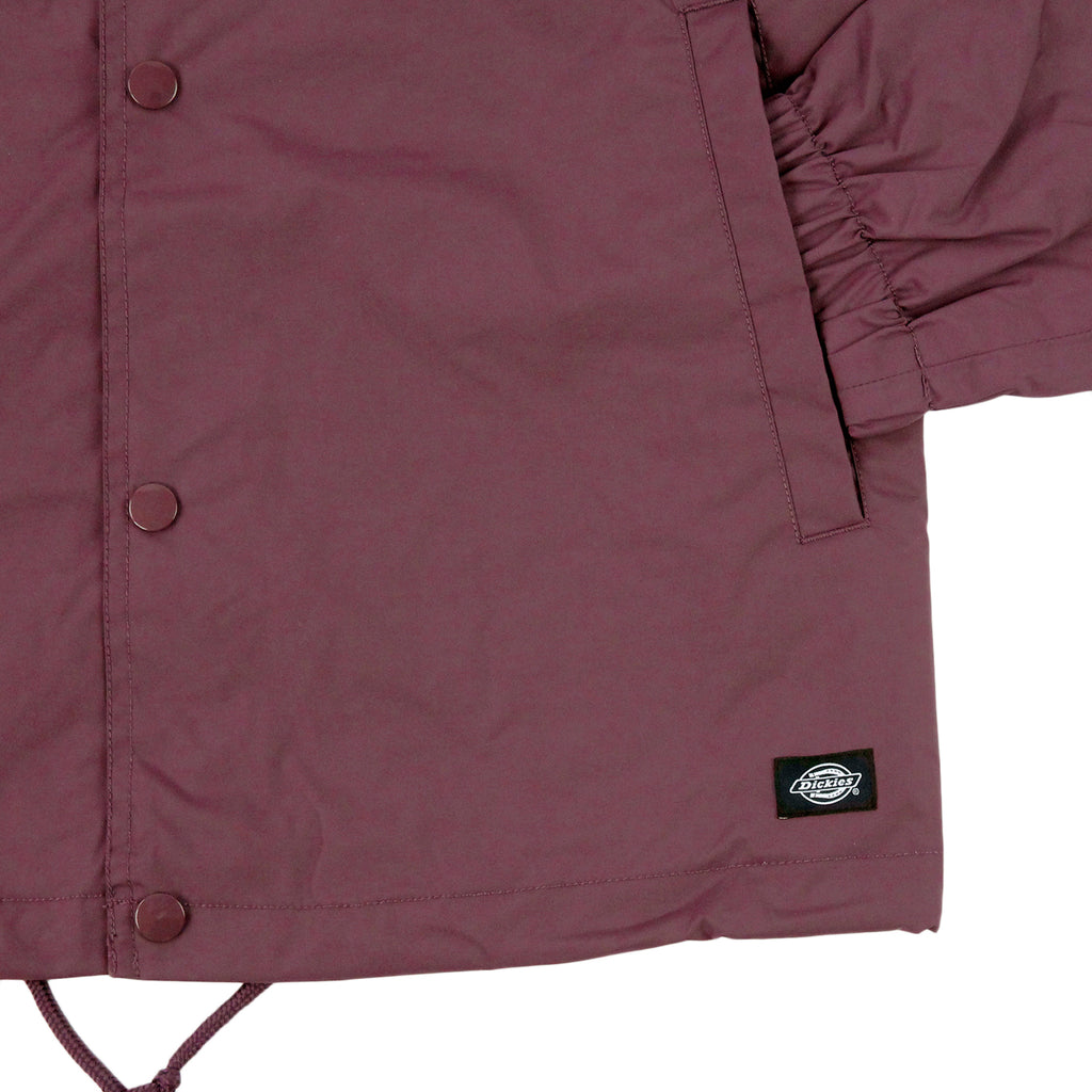 Dickies Torrance Jacket in Maroon - Cuff