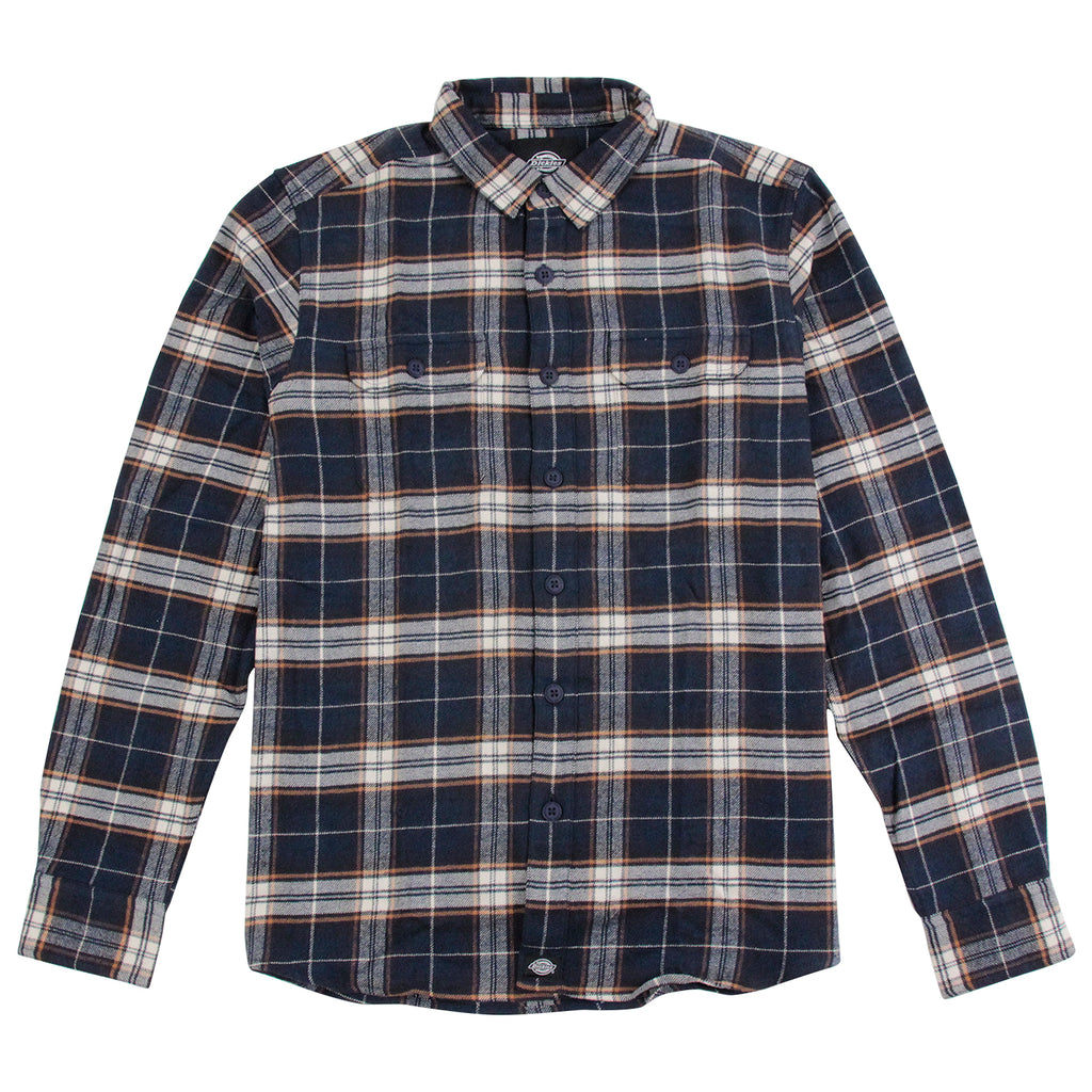 Dickies Holton Shirt in Dark Navy