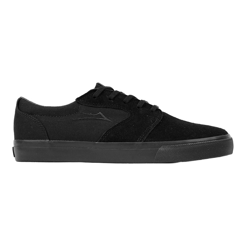 Lakai Fura Anchor in Black / Black Suede
