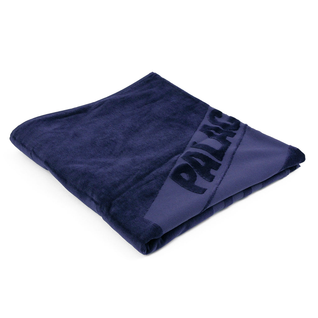 Palace x Adidas Palace Towel in Navy - Folded