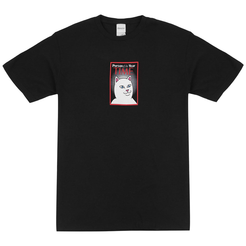 RIPNDIP Nerm Of The Year T Shirt in Black