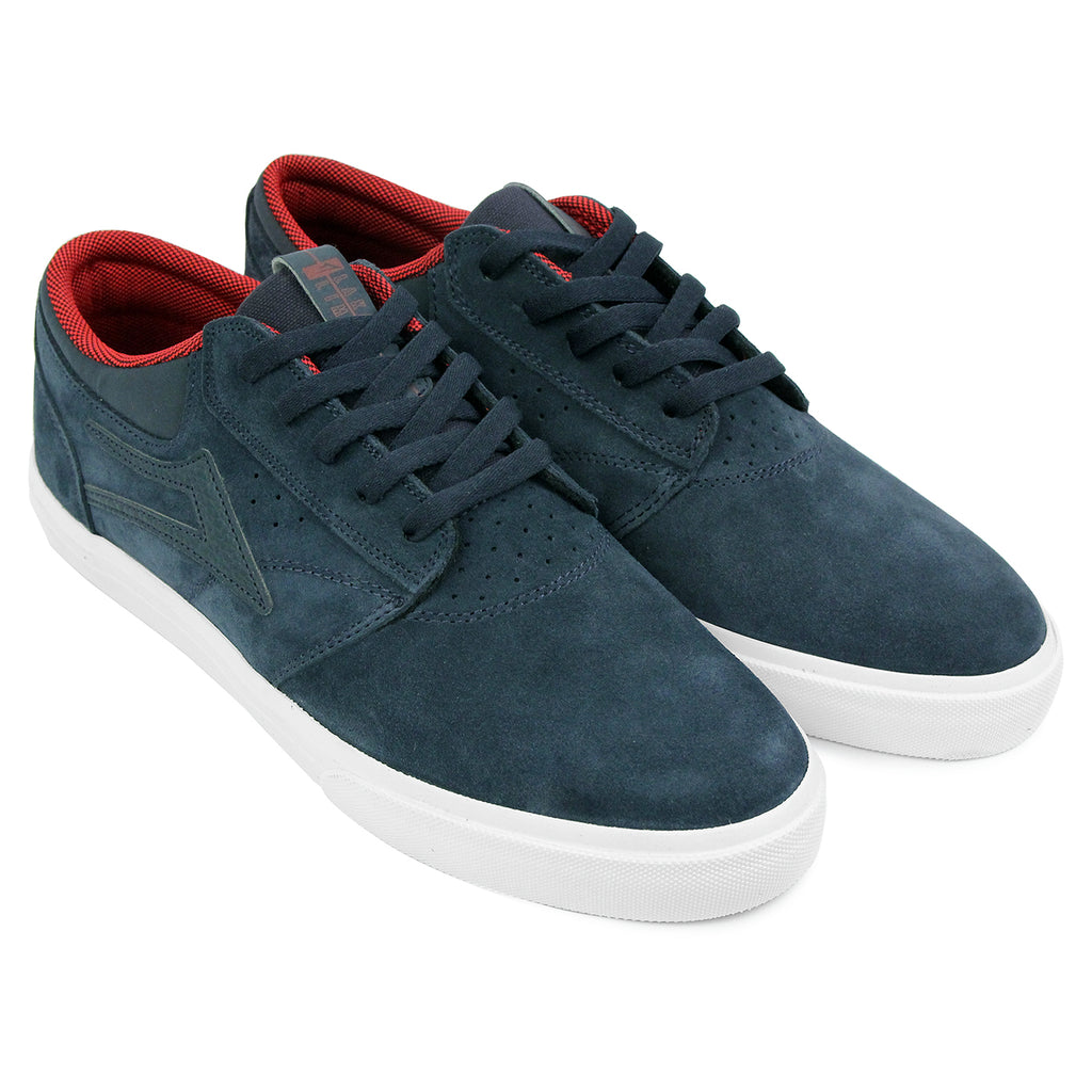 Lakai Griffin Suede Shoes in Midnight - Pair