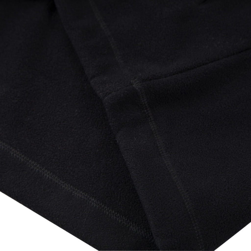 Helas Quarter Zip Fleece in Black - Detail 2