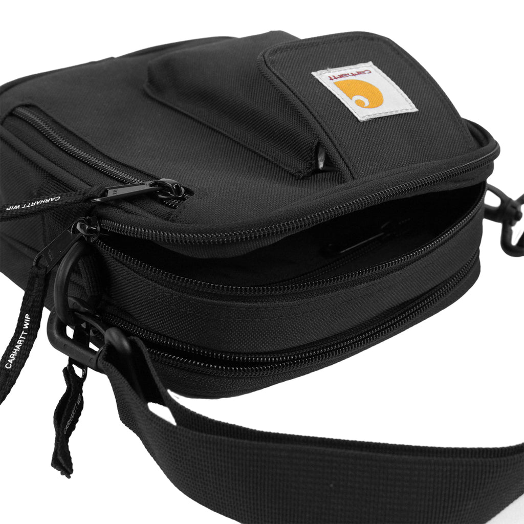 Carhartt WIP Essentials Bag in Black - Open