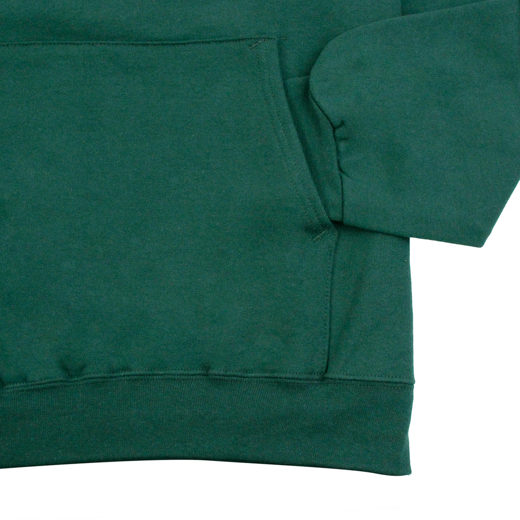 Thrasher Skate Mag Logo Hoodie in Forest Green - Sleeve