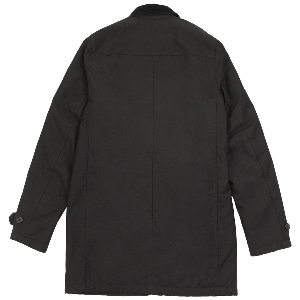 Carhartt WIP Harris Trenchcoat in Black - Back