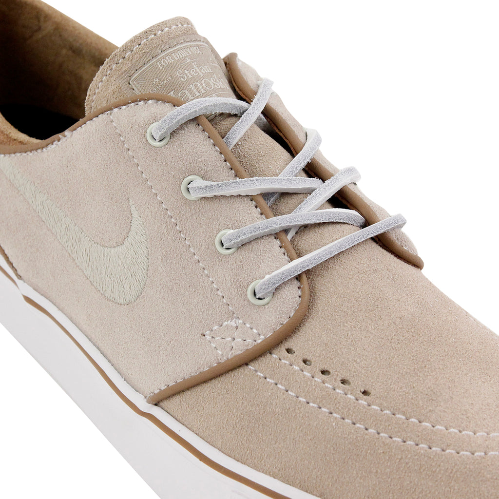 Nike SB Janoski OG Shoes in Reed / Reed - Stone - Rocky Tan - Detail