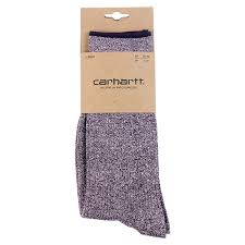 Carhartt WIP Tenure Socks in Burnt Umber Heather - Packaging