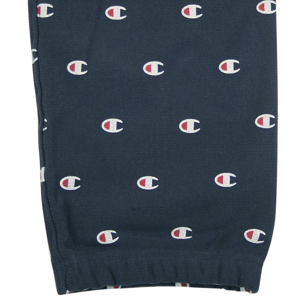 Champion All Over Elastic Cuff Pant in Navy - Cuff