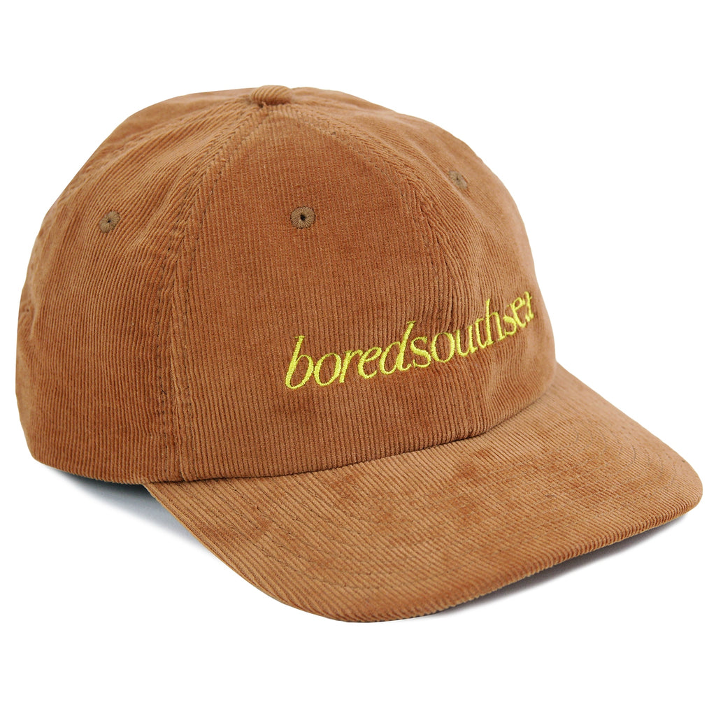 Bored of Southsea Hammer Cord Cap in Camel / Yellow