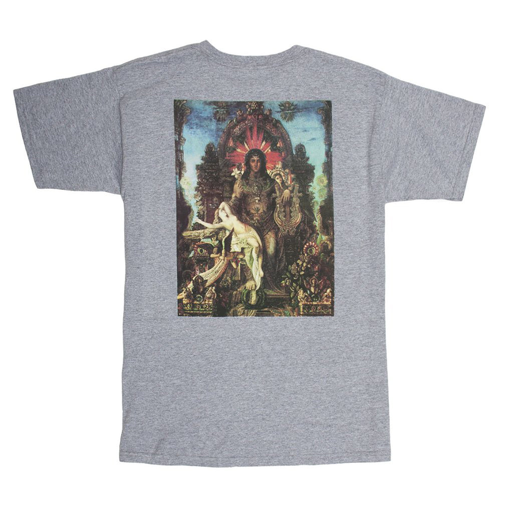 Fucking Awesome Throne T Shirt in Heather Grey