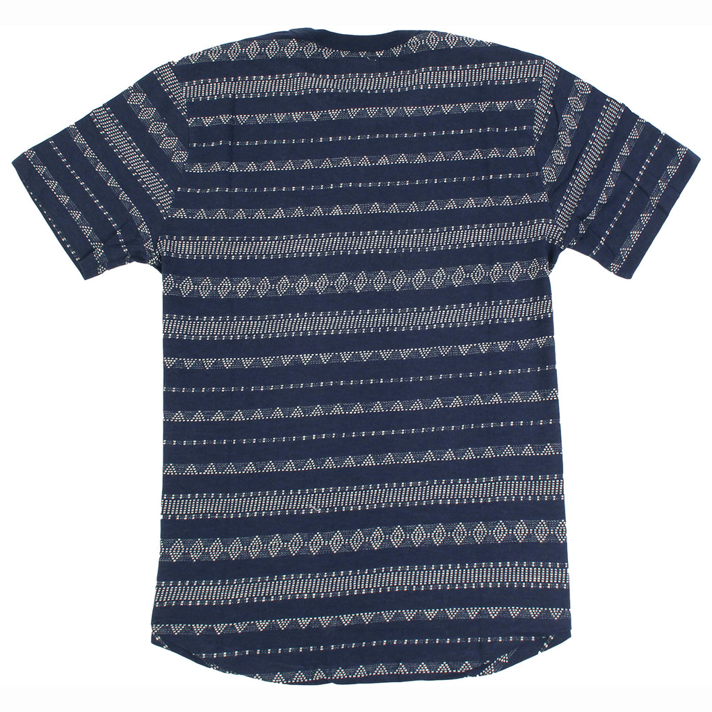 Obey Clothing Mateo T-Shirt in Indigo - Back
