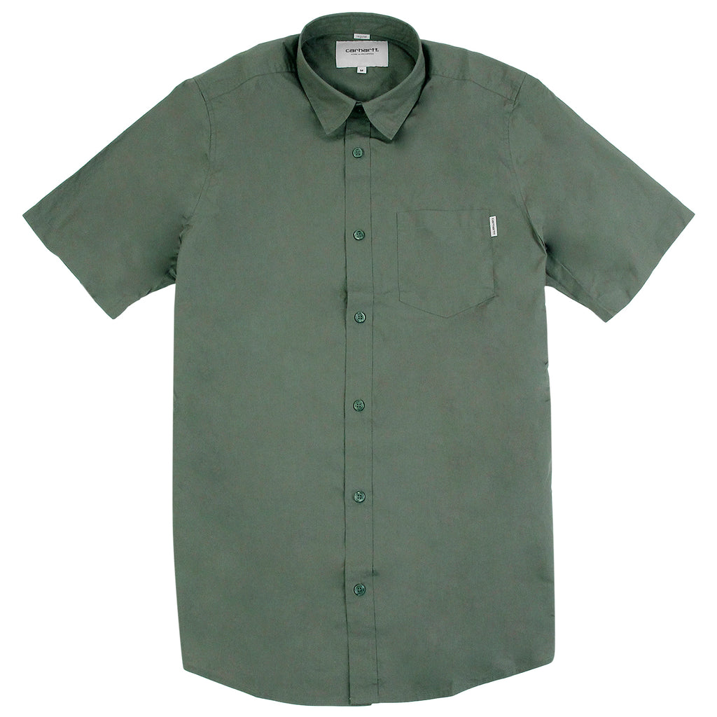 Carhartt S/S Wesley Shirt in Leaf