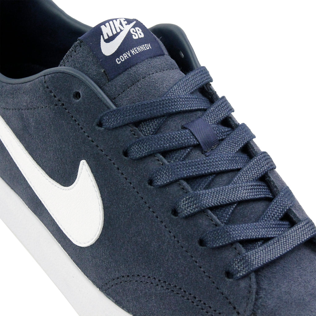 Nike SB Zoom All Court CK QS Shoes in Obsidian / White -  Laces