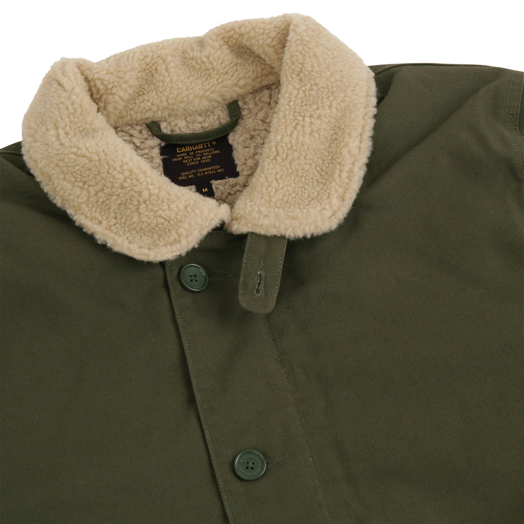 Carhartt Sheffield Jacket in Cypress - Detail
