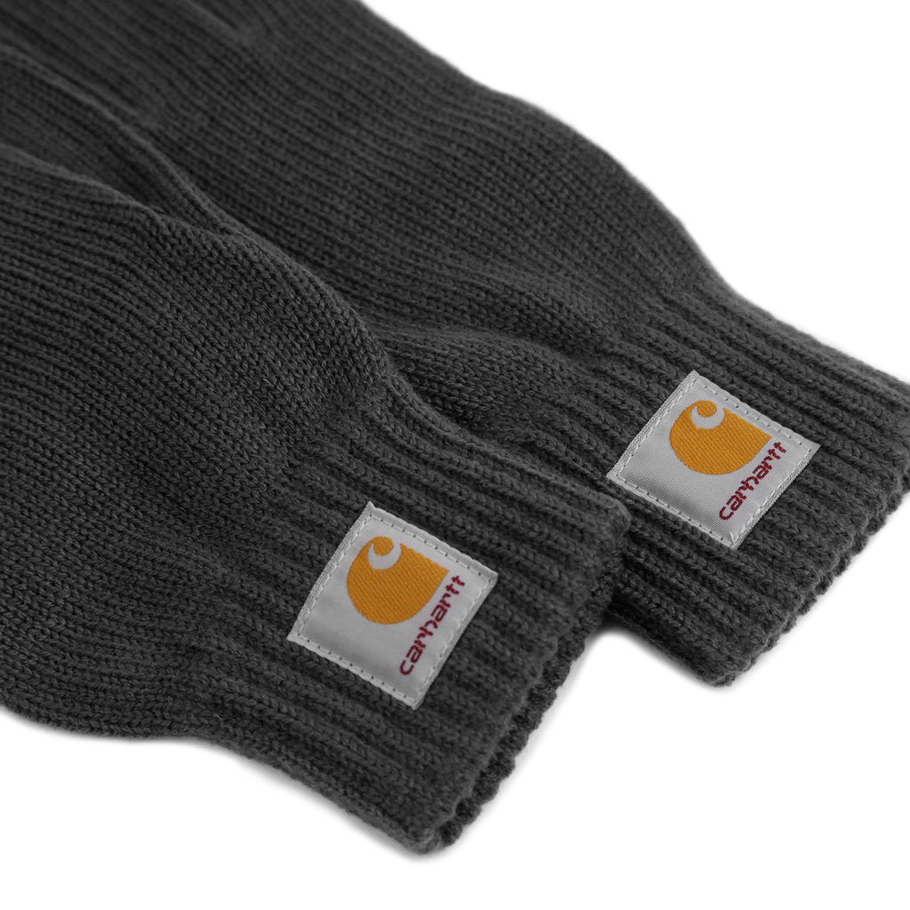 Carhartt Watch Gloves in Blacksmith - Detail