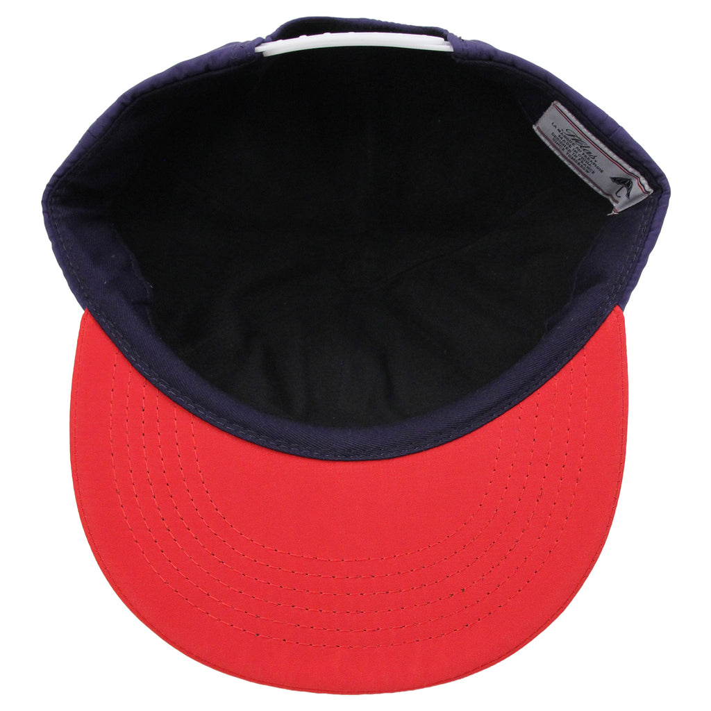 Helas Polo Club 6 Panel Cap in Navy / Red - Inside