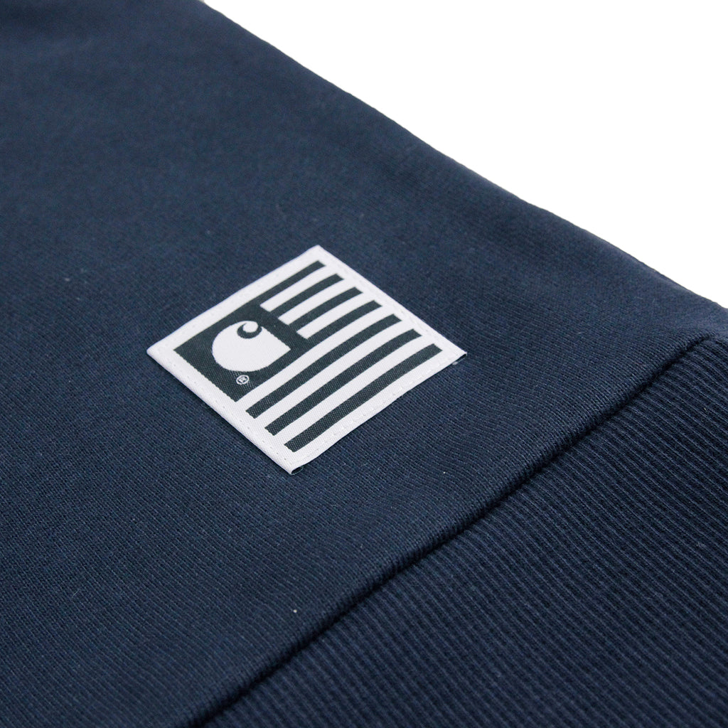 Carhartt State Flag Sweatshirt in Navy / Navy - Label