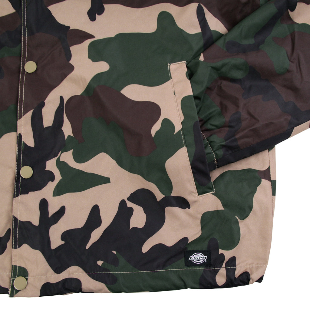 Dickies Torrance Jacket in Camouflage - Pocket