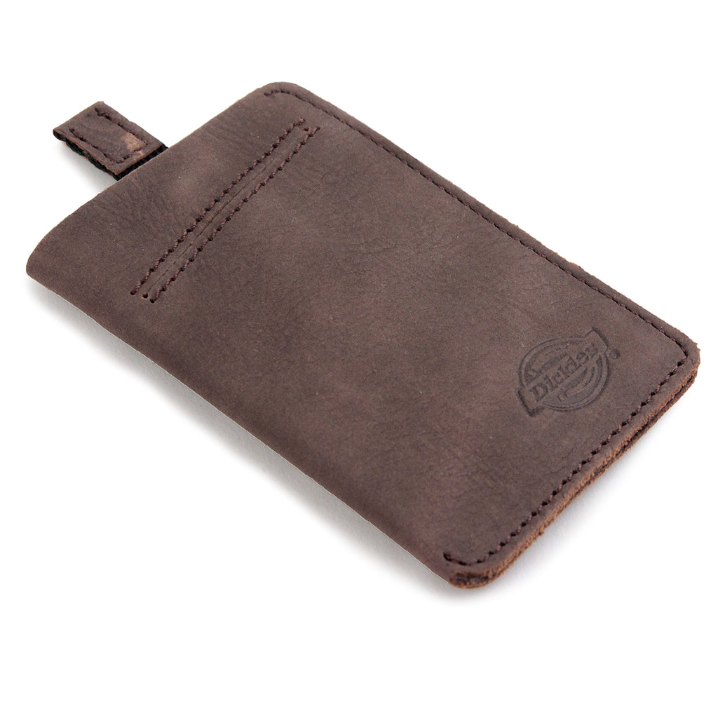 Dickies Larwill Card Wallet in Brown - Detail