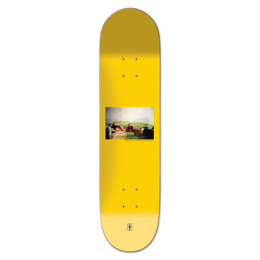 "Girl Skateboards Photos By Spike Karen O Deck in 8.125"" - Top"