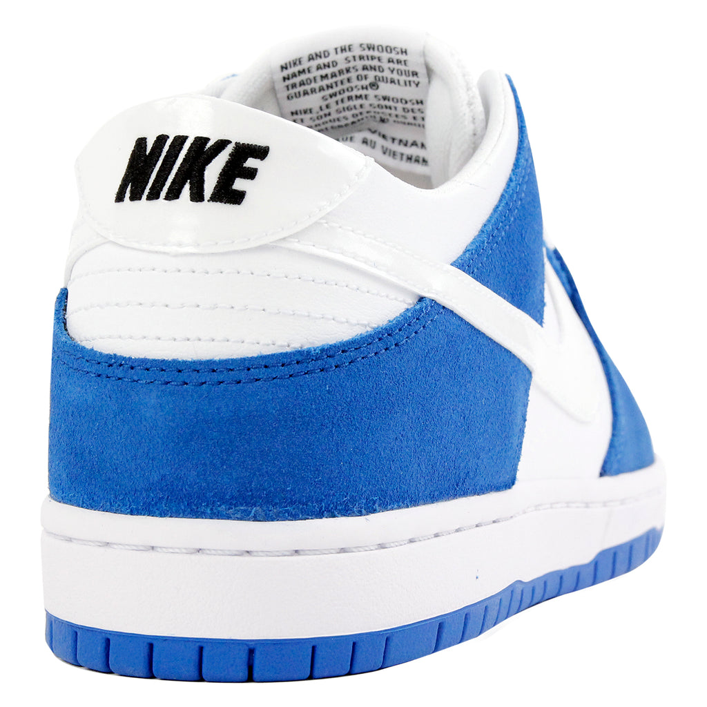 Nike SB Dunk Low Pro Ishod Wair Shoes in Blue Spark / White - Black - Heel