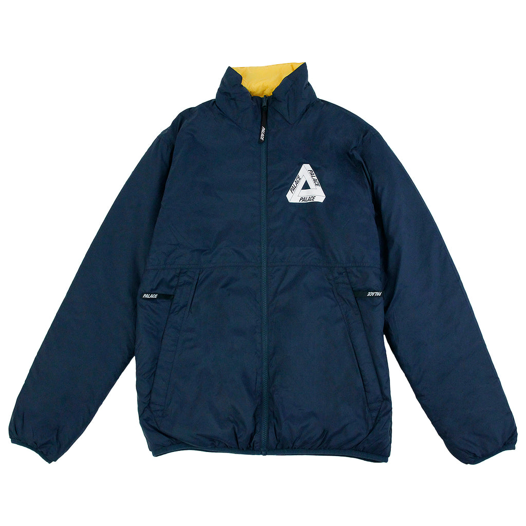 Palace Reversible Thinsulate Jacket in Mood Indigo / Zinnia Yellow