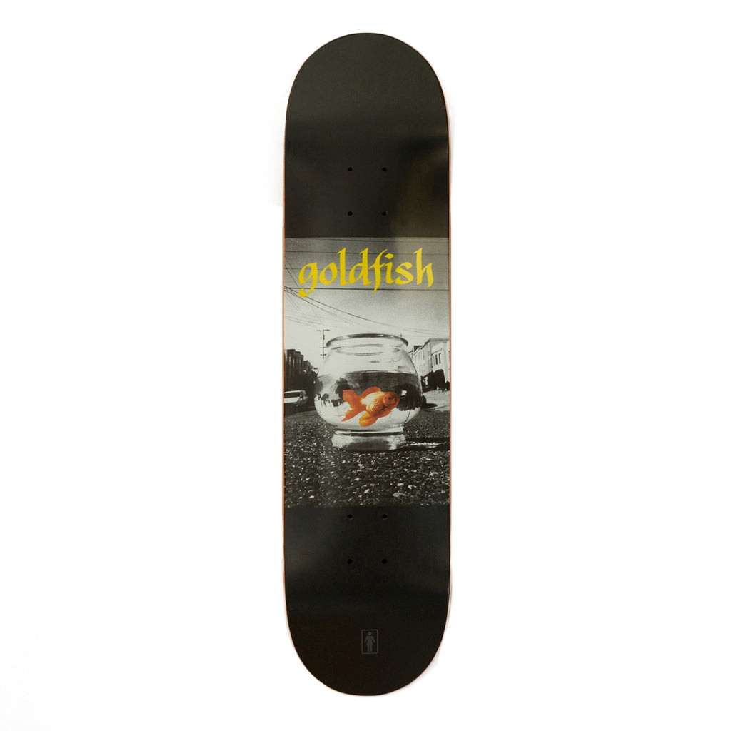 Girl Skateboards Goldfish Skateboard Deck in 8""