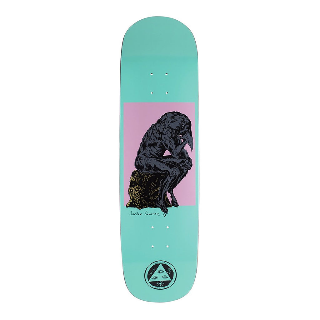 Welcome Skateboards Crinker On Nibiru Deck in Teal 8.8""