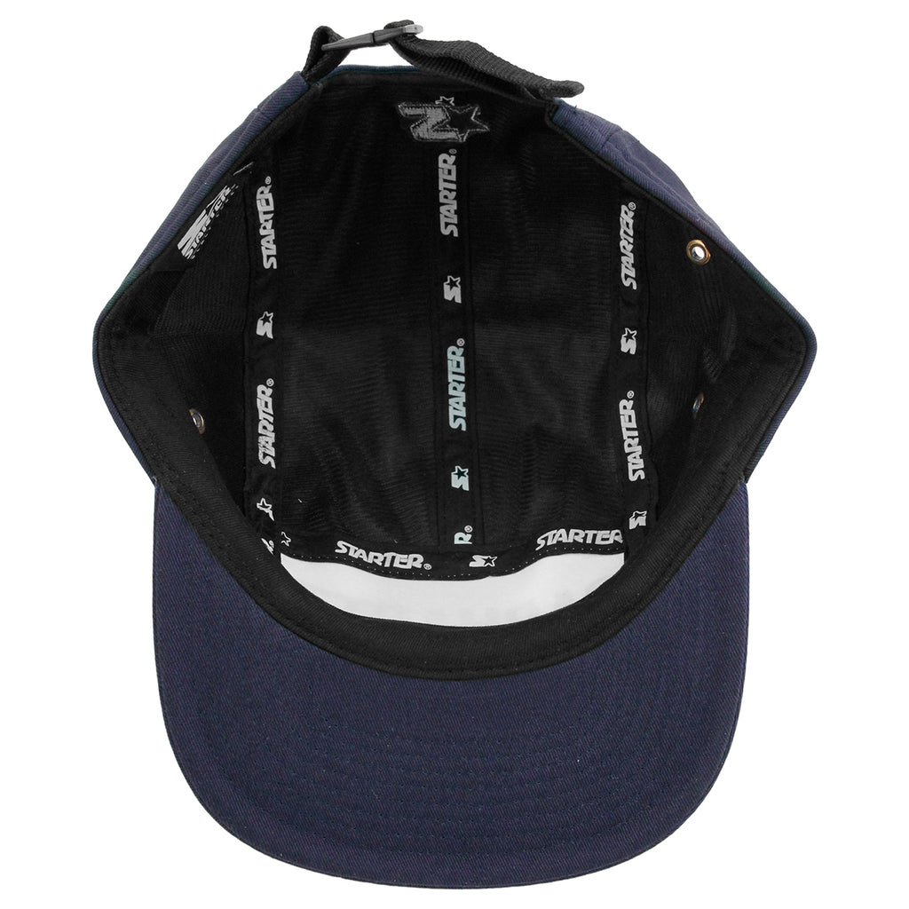 Carhartt Shore Starter Cap in Blue / Black - Inside
