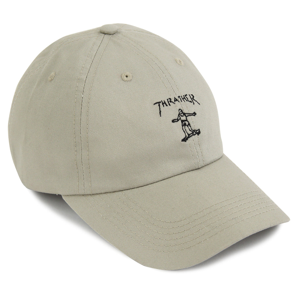 39f58771922 Gonz Old Timer Cap in Tan   Black by Thrasher