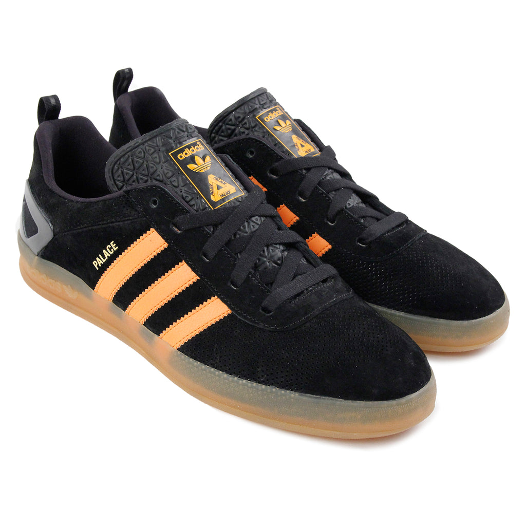 Palace x Adidas Palace Pro Shoes in Core Black / Bright Orange Gum 3 - Pair
