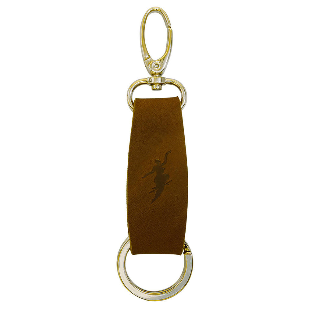 Polar Skate Co No Comply Key Chain in Brown