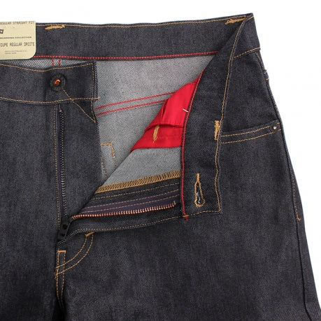 Levi's Skateboarding Collection 504 Straight Jeans in Rigid Indigo - Unzipped